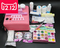 BTT-116 free shipping Pro 36W UV Dryer acrylic nail art set ,acrylic nail kit ,kit nail gel ,kit Gel nails set with lamp