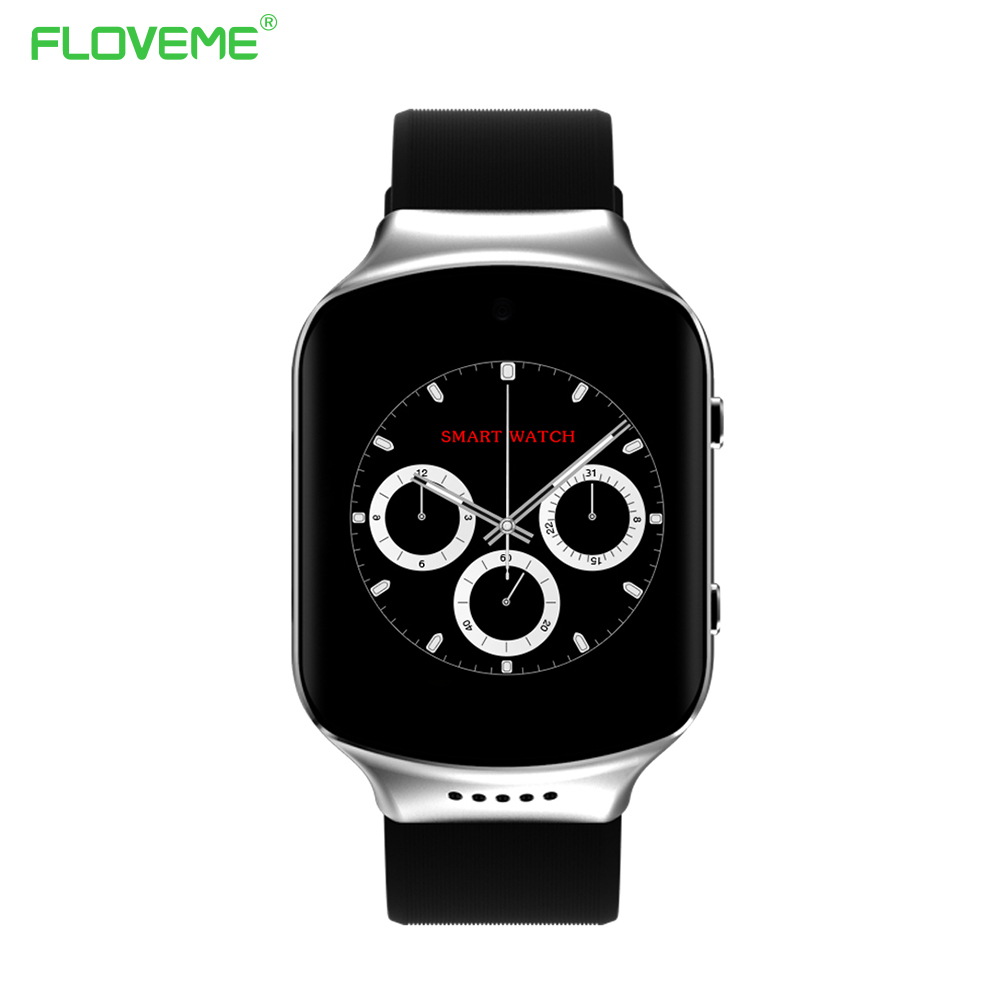 Galleria fotografica FLOVEME Z80S Montre Smart Watch Bracelet Homme 3G Bluetooth 4.0 Android 5.1 Système <font><b>Smartwatch</b></font> Pour iPhone Samsung iOS Android Smartphone