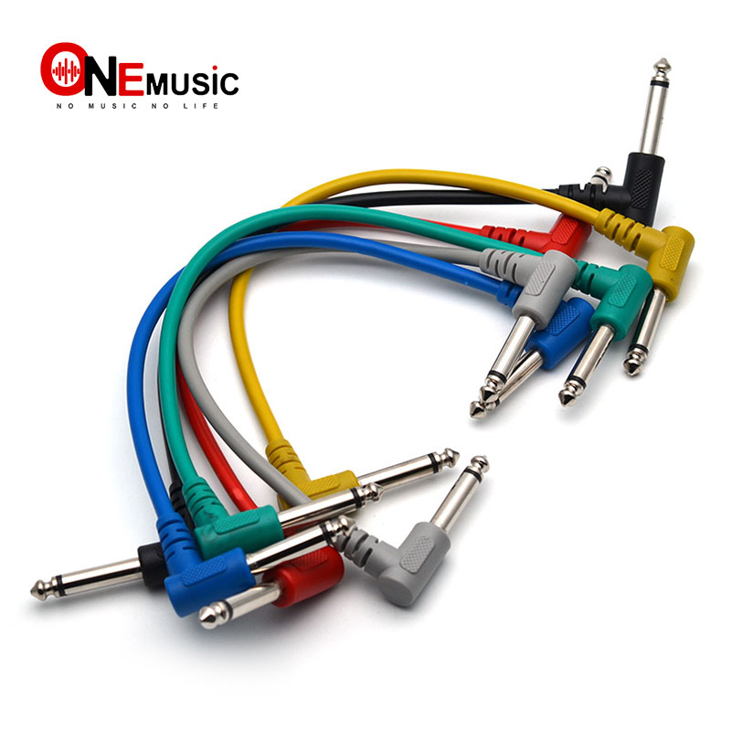 buy competitive guitar effect pedal cables colorful plastic guitar patch cables. Black Bedroom Furniture Sets. Home Design Ideas