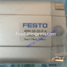 ADVU-50-50-P-A ADVU-50-60-P-A festo компактный баллоны пневматический цилиндр advu серии
