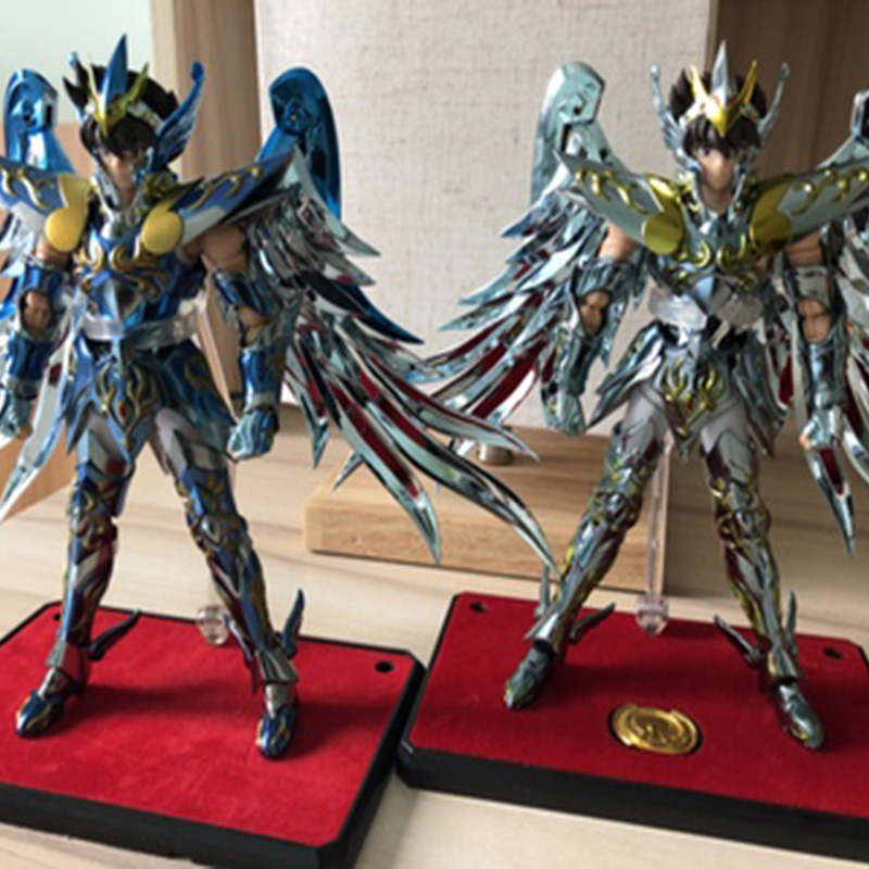 MODEL FANS INSTOCK GreatToys Great toys EX bronze Saint Pegasus Seiya V4 god cloth metal armor Myth Cloth Action Figure restock great toys greattoys gt saint seiya pegasus v3 myth cloth ex action figure with small athena statue