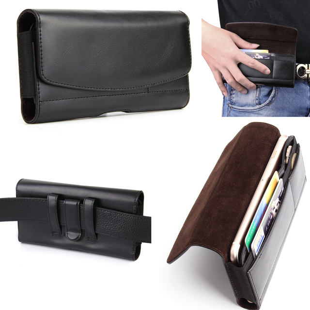 brand new 0cce7 a7477 US $10.44 5% OFF|Leather Mobile Phone Belt Clip Case Pouch For Galaxy  S9+/S9/Note9,For Sony Xperia XZ2,For Nokia 7 plus,For ,Huawei nova 2s-in ...
