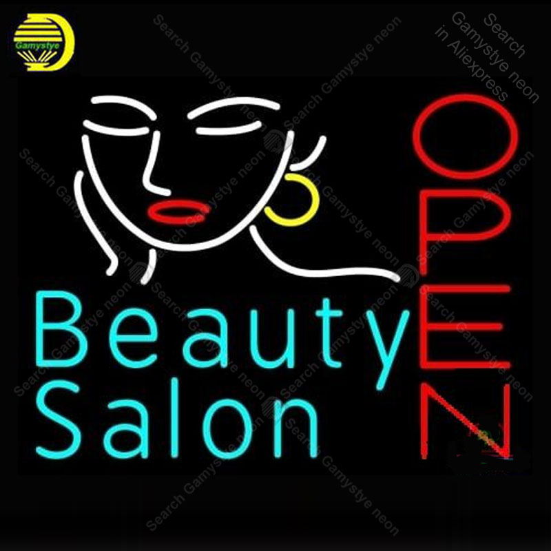 Lights & Lighting Expressive Neon Sign For Beauty Salon Open Decor Love Display Decoracion Express Shop Neon Light Up Wall Sign Neon Signs For Room Letrero Diversified In Packaging Neon Bulbs & Tubes