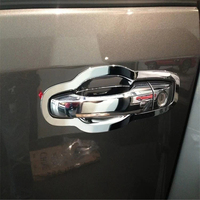 WELKINRY car auto cover styling For Fiat Freemont Dodge JC Journey 2009 2016 ABS chrome exterior door cup bowl cap sticker trim