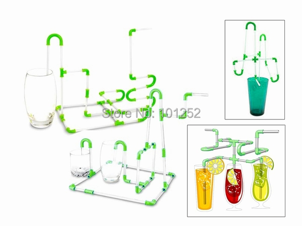 Flexible DIY Straws for Your Drink Kids Party Fun Straw, Free Shipping, Dropshipping