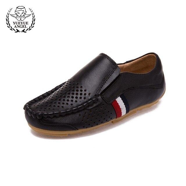 Zapatos mocasines pile suave para niños estilo británico, zapatos estilo infantil.