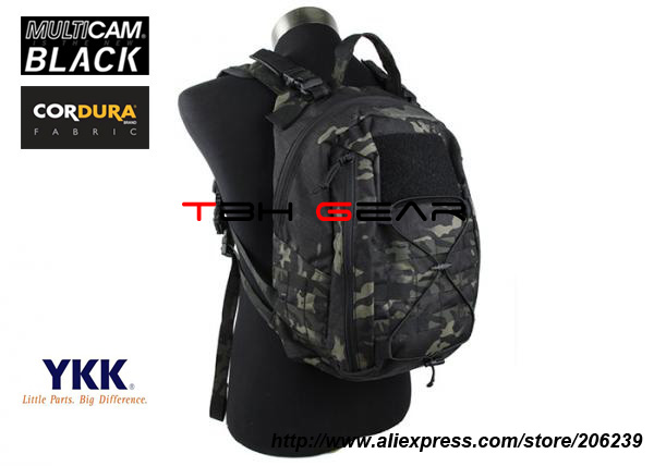 TMC DLS MM Pack Multicam Black Tactical Military Backpack MOLLE Backpack+Free shipping(SKU12050249) emerson gear sniper waist pack genuine multicam 500d military tactical waist pack free shipping sku12050410