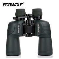 Borwolf 10-30X50 Fernglas Teleskop HD Licht Nachtsicht Bak4 Prisma Berufs Zoom Leistungsstarke für Jagd Vogel Beobachtung
