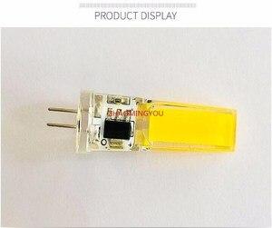 Image 5 - 1PCS LED COB 10W GY6.35 G8 110V 220V dimmable HA CONDOTTO LA GY6.35 110V LED G8 220V cob2508 dimming led g6.35 220v cob2508 di cristallo di Luce