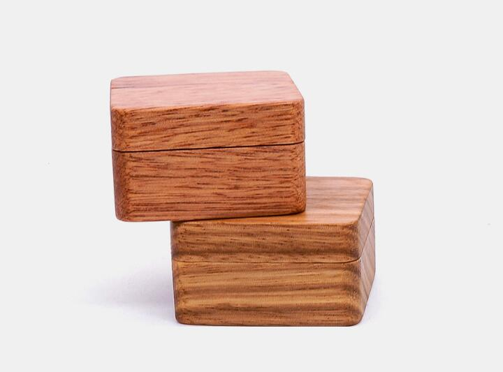 10pcs lot Natural Wood Jewelry Cufflinks Box Magnetic Cover 1 Pair Cuff Link Holder Case Jewelry