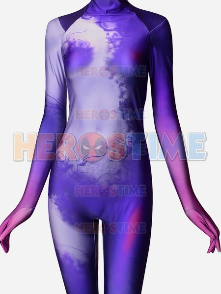 3D Printting Zentai Evelyn LOL Superhero Suit Hot LOL Game Cosplay Costume Lycra Spandex Tight Catsuit Bodysuit