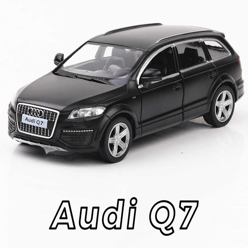 High Simulation Exquisite Diecasts & Toy Vehicles: RMZ city Car Styling Audi Q7 Luxury SUV 1:36 Alloy Diecast Car Model