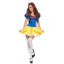 UTMEON Fantasias луч тела Белоснежка платье принцессы карнавал Хэллоуин взрослых красочные Белоснежки принцесса костюмы