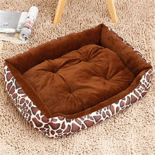 Warming Dog Bed Pet House Soft Suede Nest Fall and Winter Warm Kennel For Cat Puppy Plus size Drop