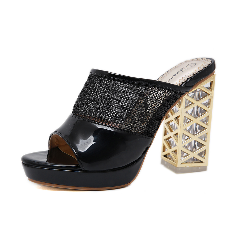 Summer Platform Sandals 2019 Fashion Women Gladiator Sandal Wedges Shoes Casual Woman Peep Toe Black Platform Sandals 34