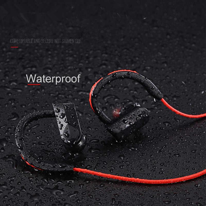 スポーツの Bluetooth ヘッドフォンワイヤレスイヤホン Bluetooth ヘッドセット防水ノイズリダクションとマイク android の ios 電話