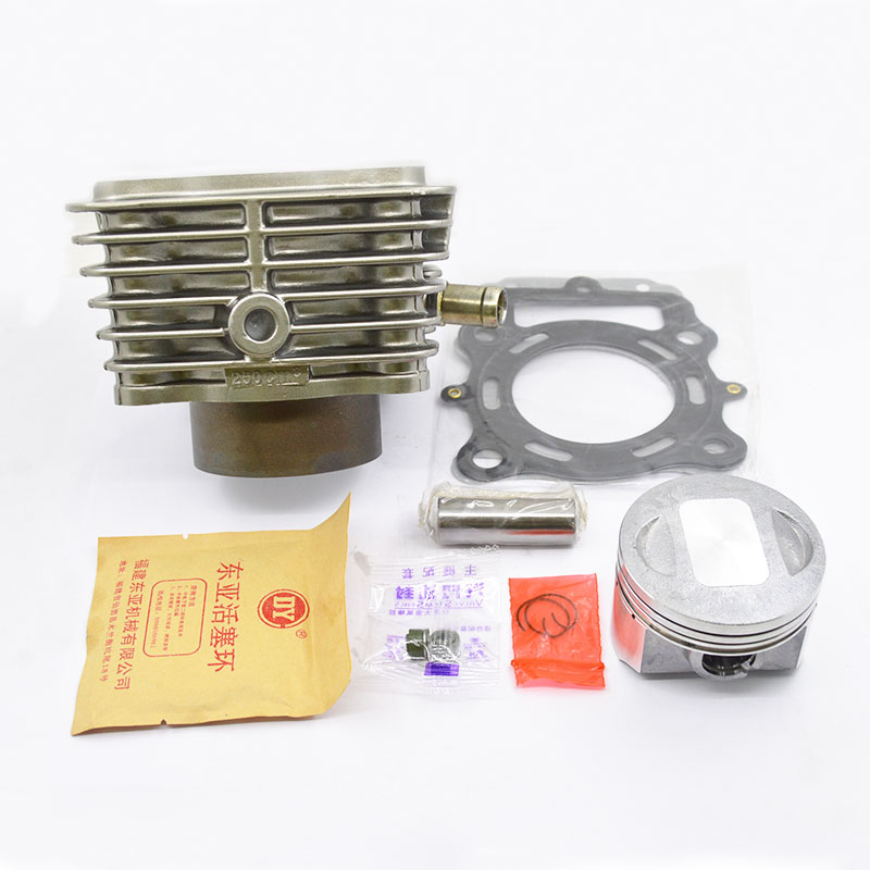 High Quaity Motorcycle Cylinder Kit 70mm Bore For LIFAN CG250 CG 250 250cc UITRALCOLD Engine Spare Parts high quality motorcycle cylinder kit for yamaha majesty yp250 yp 250 250cc engine spare parts page 7