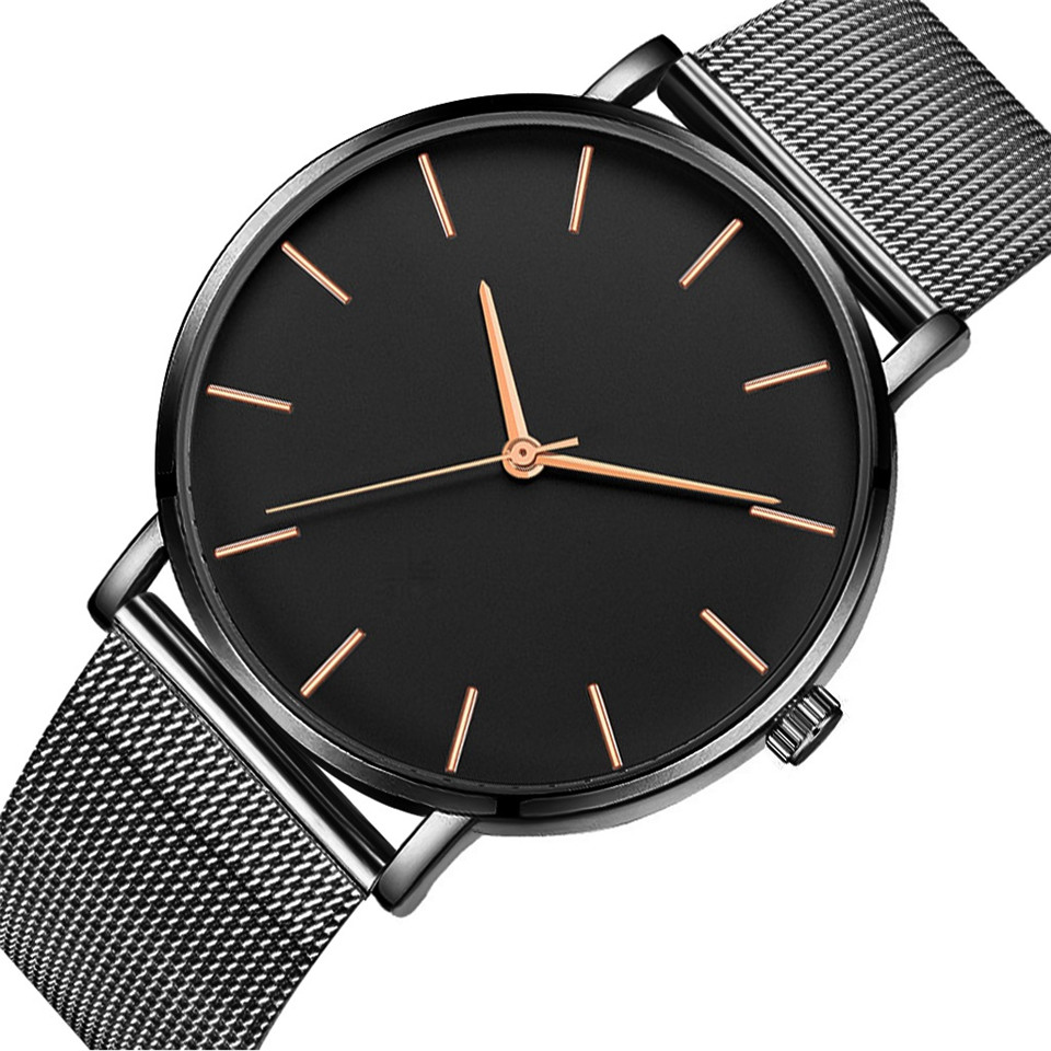 Hot Mens Military Watch Men Minimalist Rose Gold Watch Sport Analog Quartz Watches Brand Relogios Reloj Hombre Montre Homme 2019Hot Mens Military Watch Men Minimalist Rose Gold Watch Sport Analog Quartz Watches Brand Relogios Reloj Hombre Montre Homme 2019