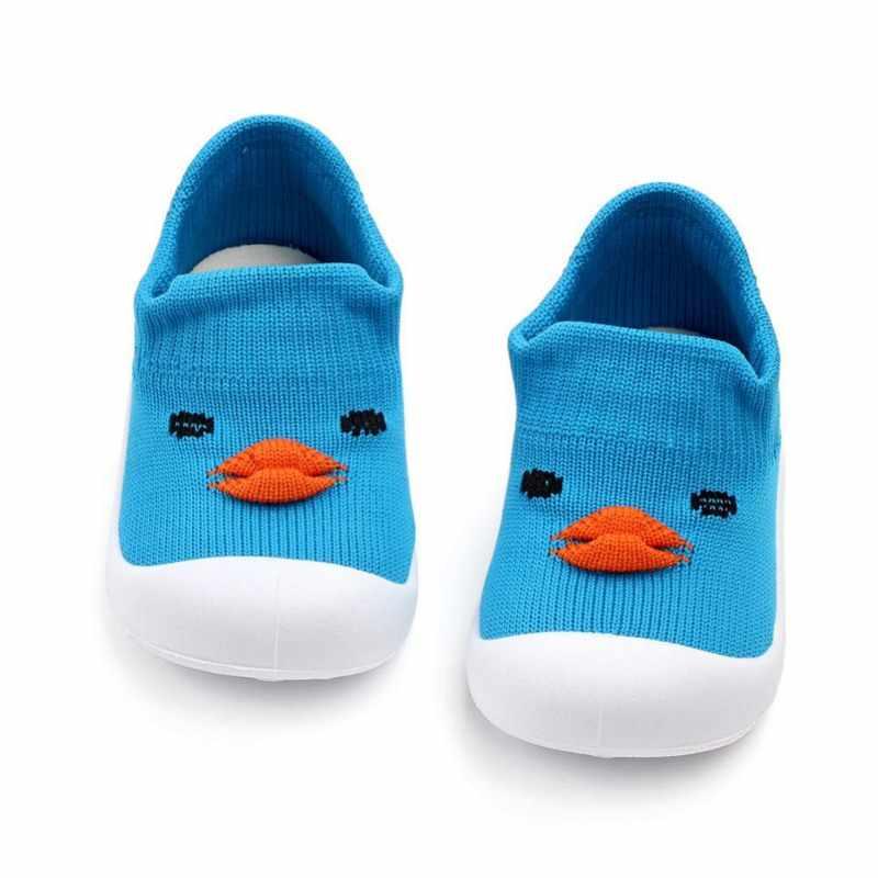 2019 תינוק חדש בני בנות קריקטורה דפוס אנטי להחליק נעלי סניקרס רך הסוליות הראשונה הליכונים הליכה נעלי עריסה
