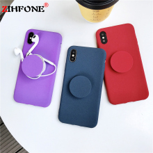 Get more info on the Fashion Anti-knock Shockproof Case For iPhone X XR XS Max Case Silicone Plush Lacquer Feel Cover For iPhone 7 8 6S 6 Plus X Case