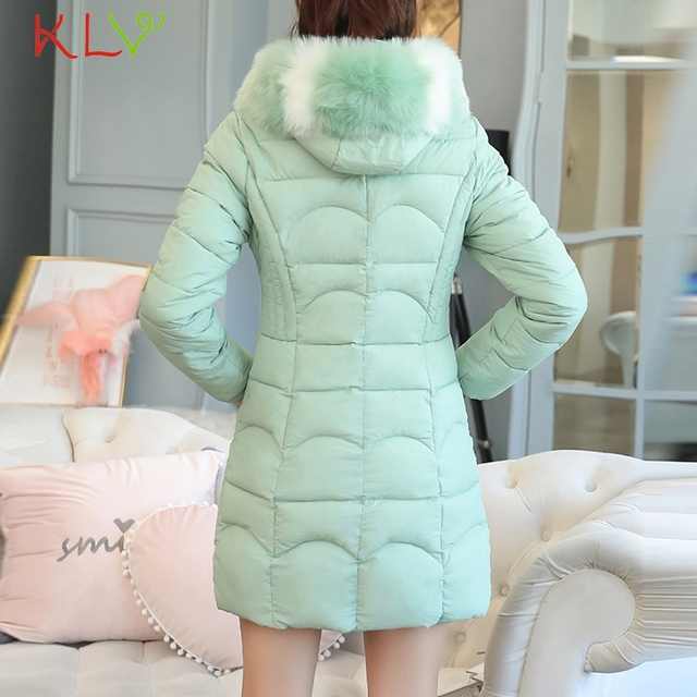 Women Jacket Winter Hooded Thick Fur Cotton Parka Long 2018 Plus Size Ladies Chamarra Cazadora Mujer Coat For Girls 18Oct24 3
