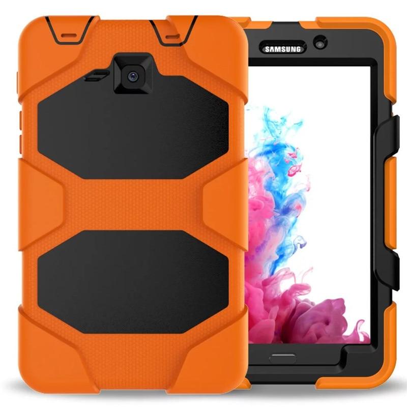 Tab A T280 SM-T285 чехол для планшета повышенной прочности Fundas, силиконовая задняя крышка для Samsung Galaxy Tab A, защитная подставка-держатель 7,0 дюйма-2