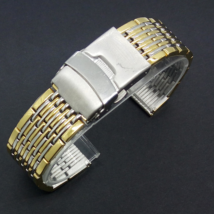 Hot New Arrival High Qulaity 20 MM Stainless Steel Watchband Metal Bracelet Strap Replacement Wrist Watch
