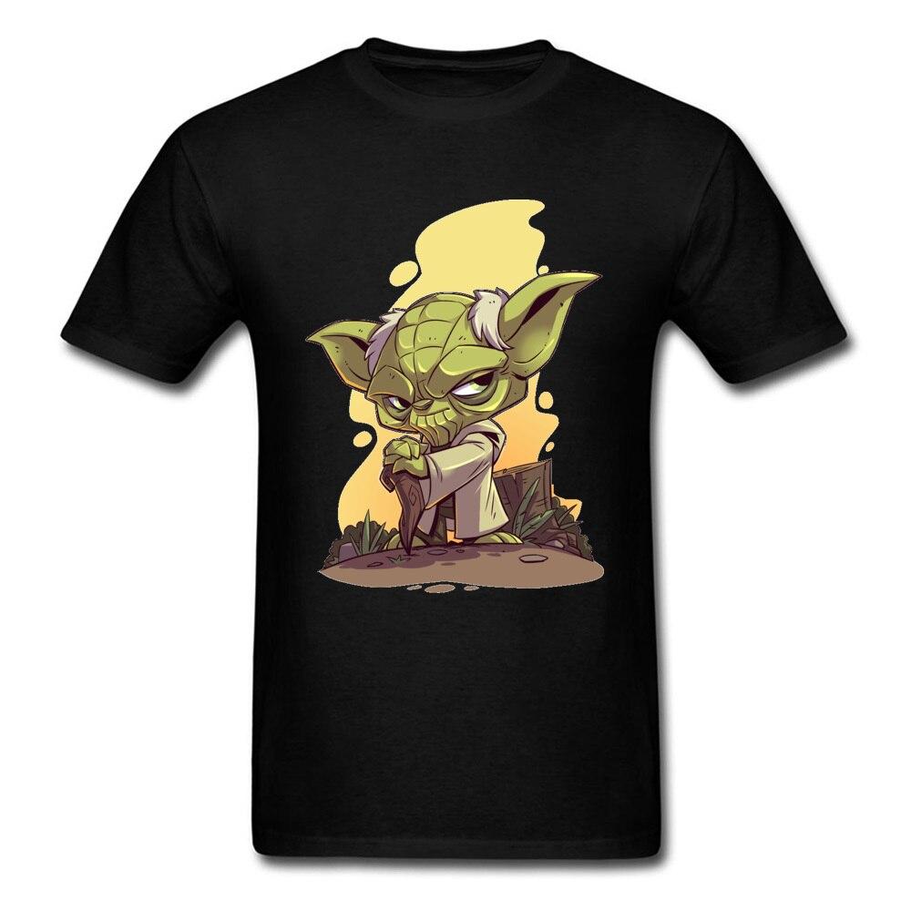 90s Anime Yoda Printed Tshirt Star Wars Movie Game T Shirts Civil War Avengers Fight Tee-Shirt Infinite Killer T-Shirt For Men