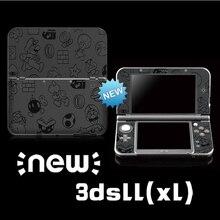 Pegatinas protectoras de vinilo para Super Maro, pegatinas de colores para Nintendo NEW 3DS LL/ 3DS XL