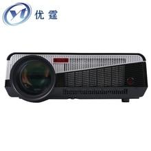 YT-LDE86+ HD LED Projector Game Movie Video HDMI USB VGA cvbs Home Theater 3D LED Projetor 2800Lumens 720p1080P