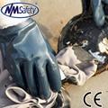 NMSAFETY Нитрил Knit Interlock Lining Smooth Heavy Duty Промышленные Перчатки Руки нефти и газа перчатки