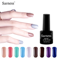 sarness 8ml Nail Gel Polish Nice Soak Off Professional nail Art Paint Coating Layer 29 Colors Gel polish vernis semi permanent