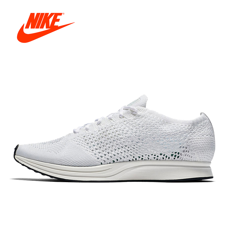 Original New Arrival Authentic NIKE Flyknit Racer Men's Breathable Low Top Running Shoes Sneakers original new arrival authentic nike men s breathable running shoes sneakers