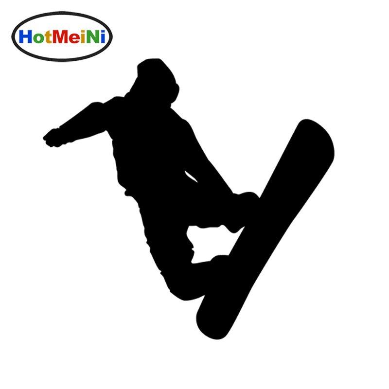 HotMeiNi 14.5 * 13.3 CM Grand Patinage Artistique Snowboard Snow Board Sports Vinyle Decal Autocollant pour Autocollants De Voiture Camion Fenêtre Pare-chocs