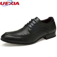 UEXIA Handmade Dress Formal Shoes Men Luxury Oxfords Flats Slip On Party Wedding Classic Casual Business