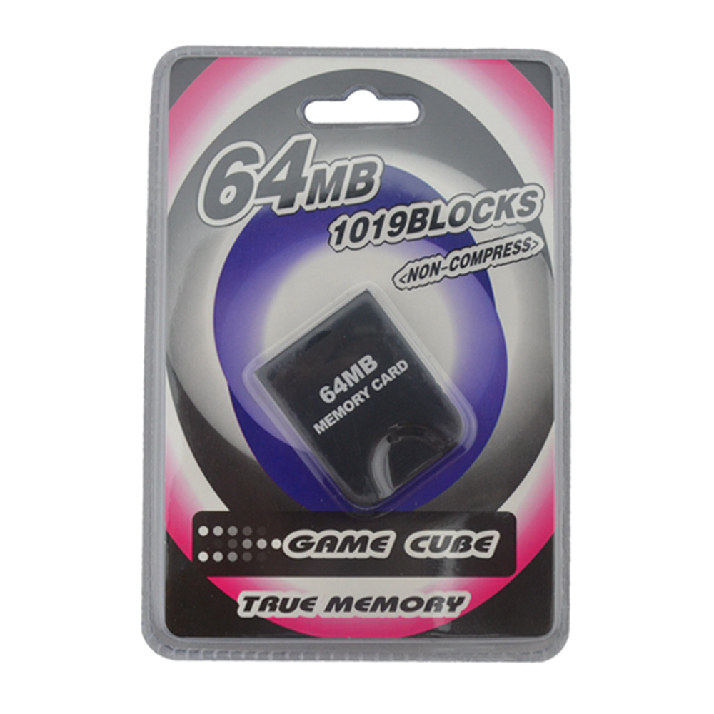 10pcs a lot 64MB Memory Card Saver for GameCube for N-G-C