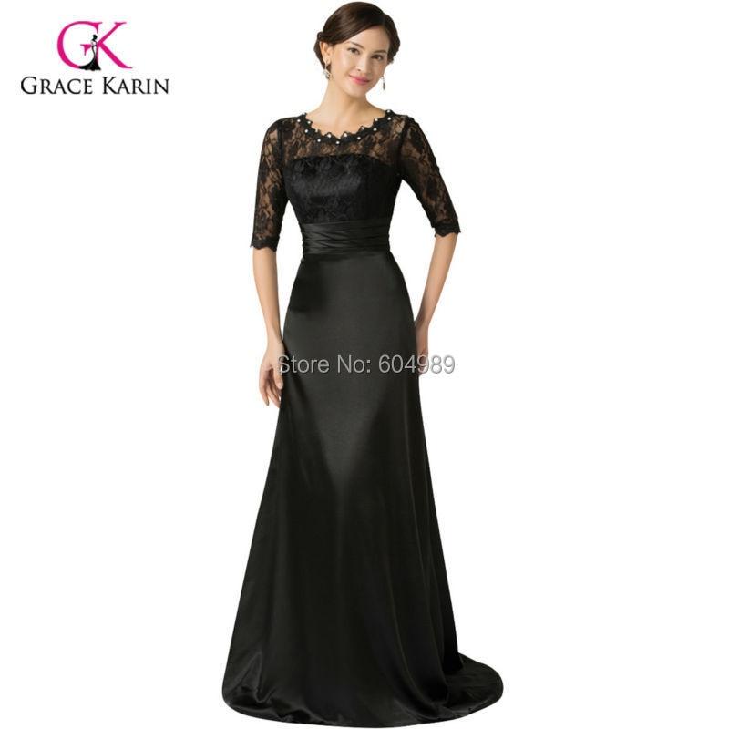 Black dress size 0 long dresses