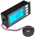 6 in 1 AC 80~270V 100A Digital Display Voltmeter/Ammeter/Power Meter/Electric Energy Meter/Power Monitor Free Shipping 12002350