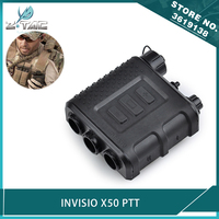Z tactical Airsoft Invisio X50 PTT Kenwood for Tactical Military Headset BAOFENG Walkie Talkie Accessories