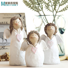 Guardian small angel creative gifts home decorations Decoration living room TV cabinet
