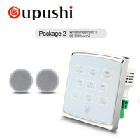 Cheap Free Shipping Home Background Mu Mini Wall Amplifier Bluetooth Power Amplifier With Ceiling Speakers