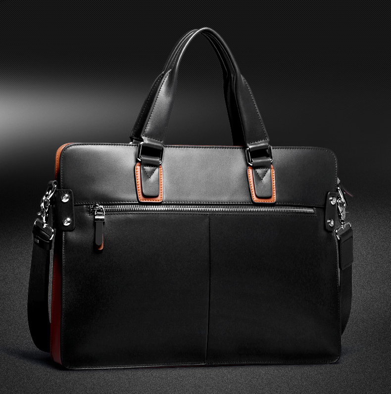 mens genuine leather briefcase bag (13)