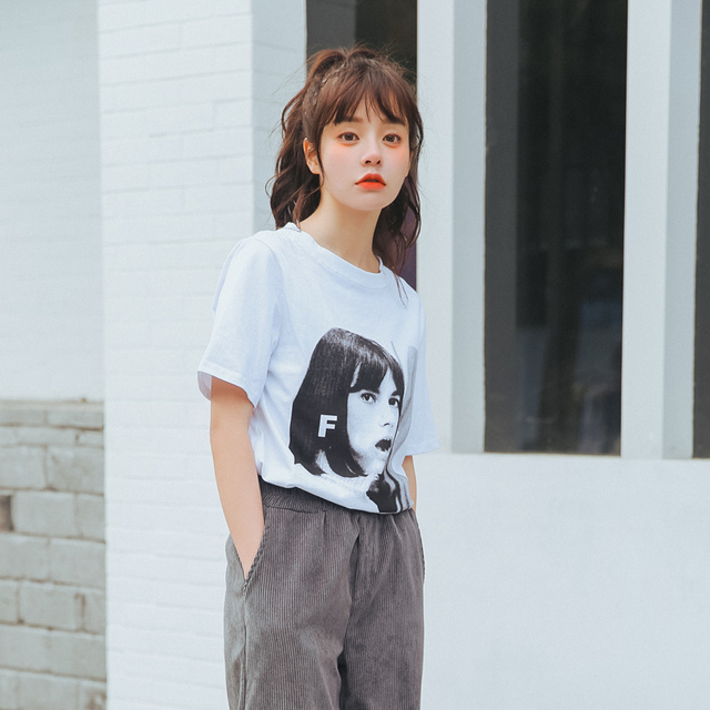Buy Fashion Summer 2017 Off Shoulder Top Korean Clothes Harajuku Personality