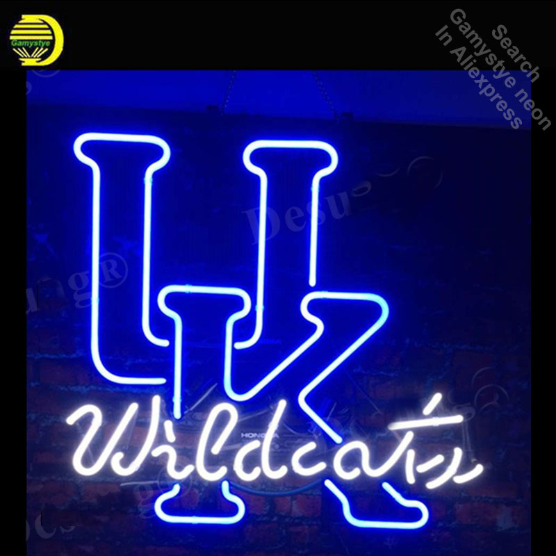 University Kentucky Wild cats Neon Signs Handcrafted Neon Bulb Glass Tube Iconic Signs For Home Professional Bulbs Decorative signs page 4