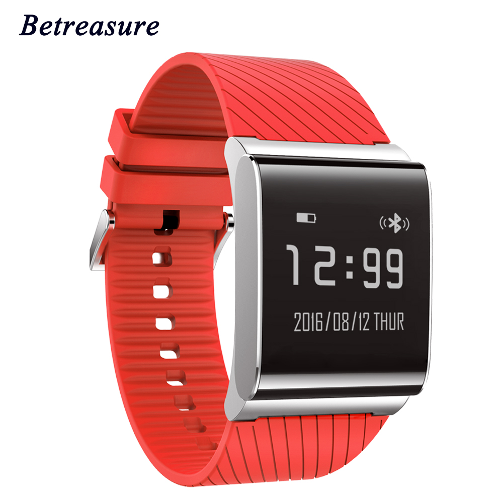 2017 Betreasure X9P Smart Wristband Blood Pressure Blood Oxygen Fitness Bracelet Heart Rate Monitor Bluetooth 4