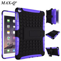 Shockproof Heavy Duty Hybrid Armor Hard Stand Tablet Case Protective Cover For IPad 2 3 For