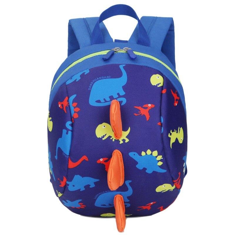 Baby Toy School Bags Cartoon Dinosaur Print Mini Plush Backpack Kids Outdoor Travel Pack Bag Student Kindergarten Bag dinosaur backpack kids