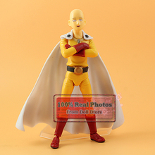14cm Japanese classic Anime Saitama One Punch Man Figma 310 PVC Action Figure Collectible Model Boy Girl best kids toys