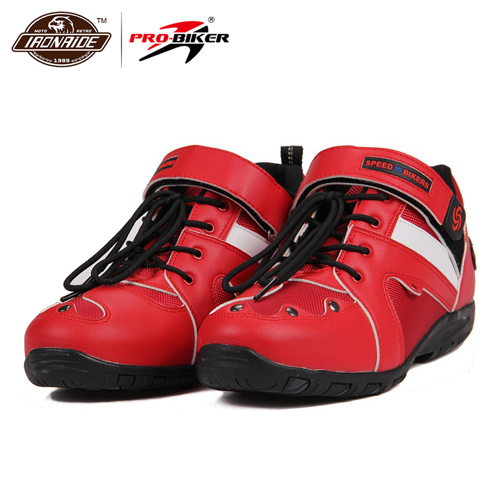 PRO-BIKER hommes bottes de Moto Motocross bottes d'équitation Moto Dirt Bike course Moto bottes Moto Protctor chaussures 3 couleurs