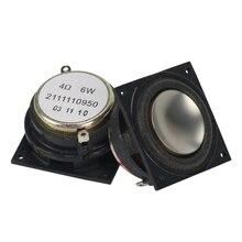 4OHM Mini haut parleur néodyme 1.25 pouces gamme complète 34*34mm grand Volume pour Bluetooth corne Mobile bricolage 6W